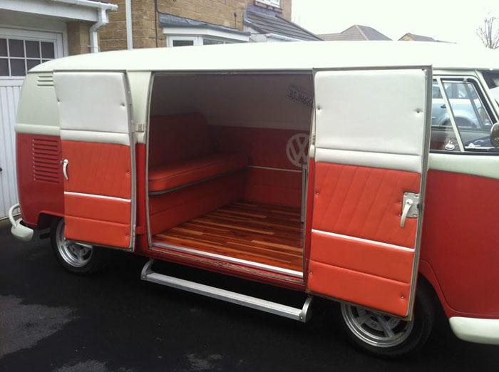1964 Vw Splitscreen Camper Panel Van Interior 2