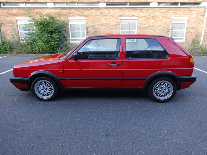 1991 Volkswagen Golf MK2 GTI Left Side