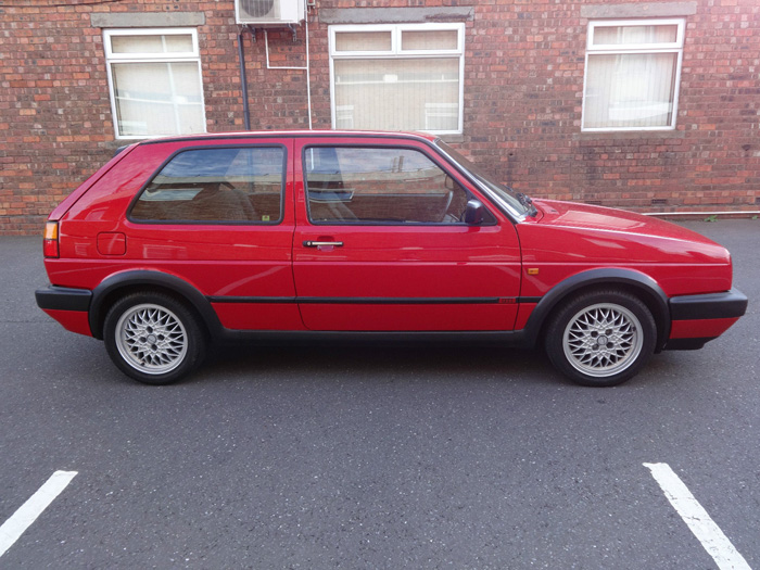 1991 Volkswagen Golf MK2 GTI Right Side