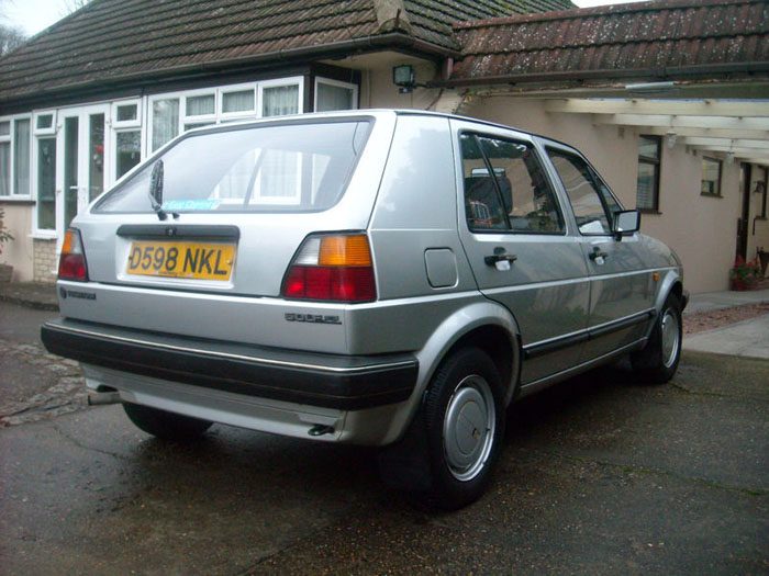 1987 volkswagen golf cl 4
