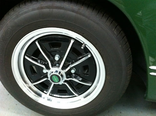 1969 Volkswagen Karmann Ghia Wheel