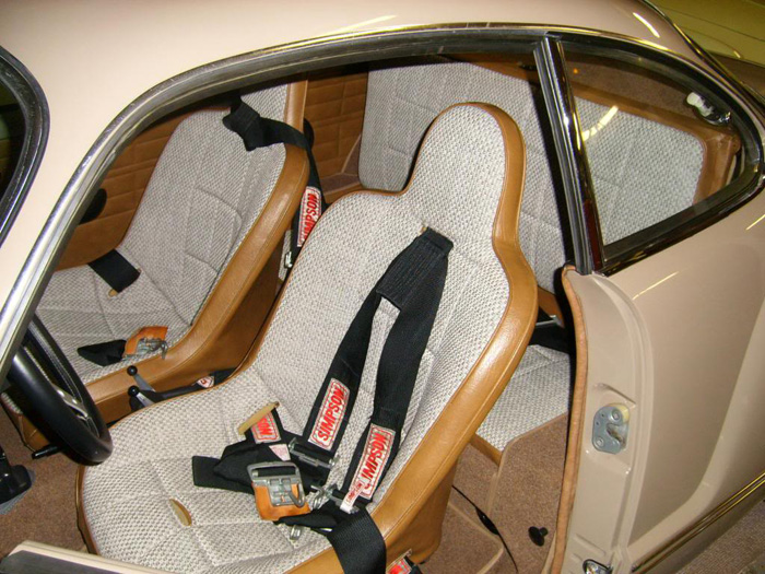 1971 Volkswagen Karmann Ghia Interior Seats