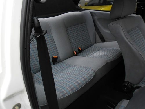 1991 Volkswagen Polo GT Coupe Rear Seats