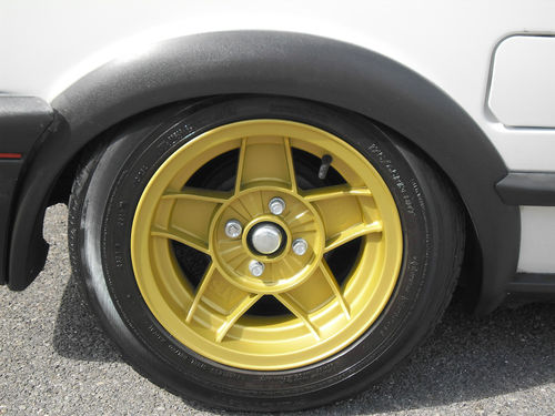 1991 Volkswagen Polo GT Coupe Wheel