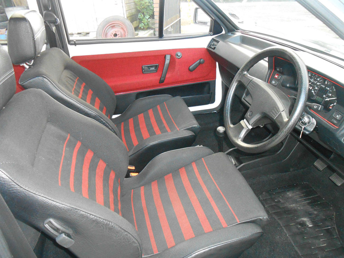 1985 Volkswagen Polo 1.3 S Coupe Interior