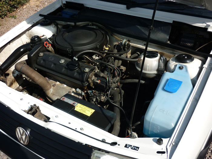 1992 Volkswagen Polo CL Engine Bay