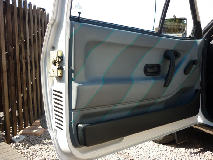 1992 Volkswagen Polo CL Interior Door