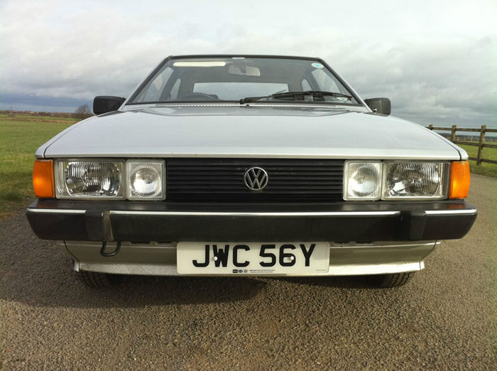 1983 volkswagen scirocco 1.6 gl automatic front