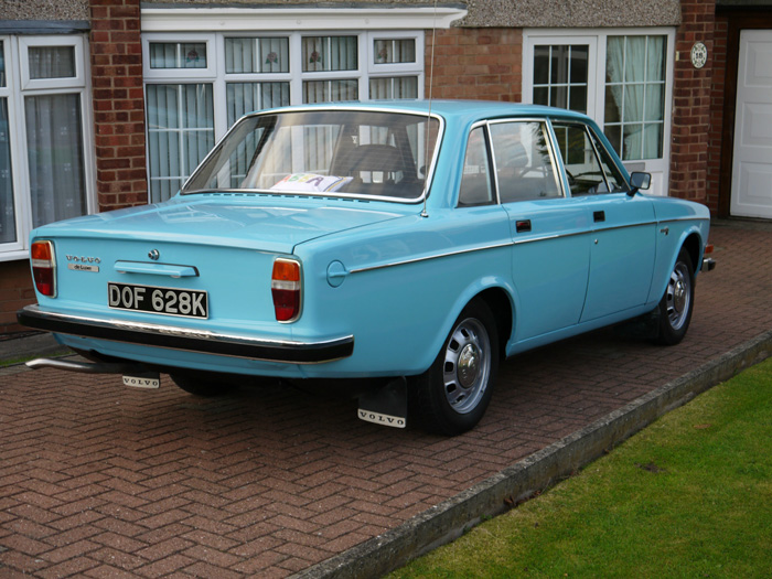 Featured Cars Volvo 140 Series 1972 Volvo 144 Dl