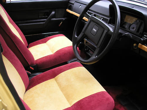 1979 volvo 244 dl auto interior 1