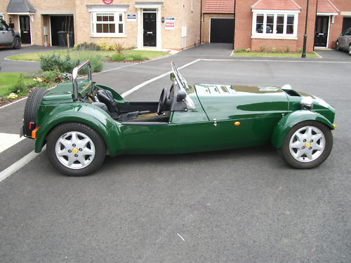 1999 westfield seiw 1800 16v zetec british racing green 1