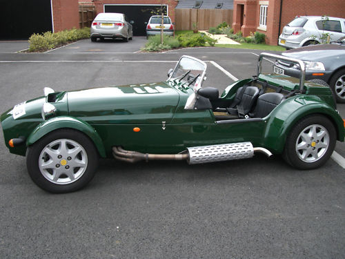 1999 westfield seiw 1800 16v zetec british racing green 2