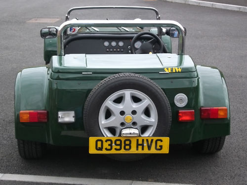1999 westfield seiw 1800 16v zetec british racing green back