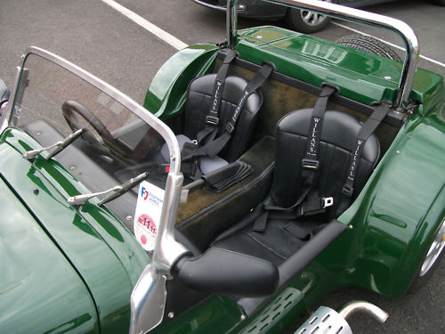 1999 westfield seiw 1800 16v zetec british racing green interior