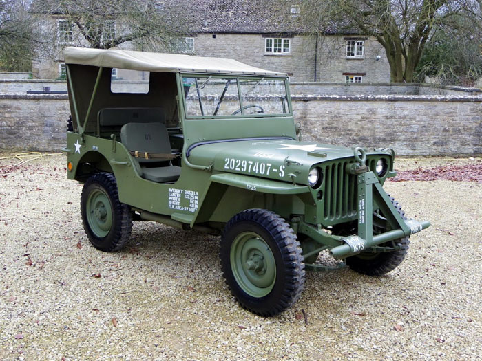 genuine world war ii 1944 willys jeep 1