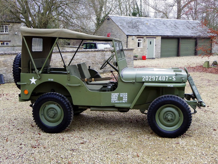 genuine world war ii 1944 willys jeep 2