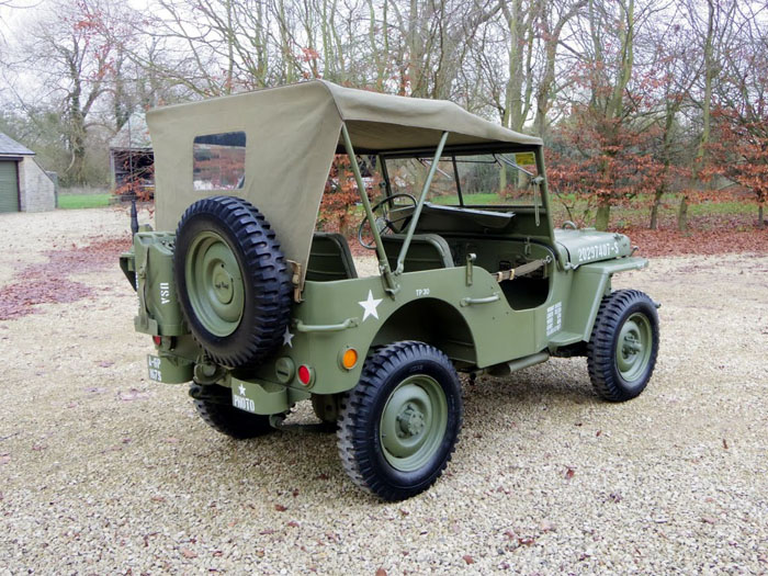 genuine world war ii 1944 willys jeep 3