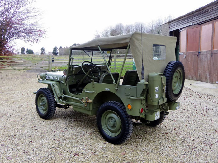 genuine world war ii 1944 willys jeep 4