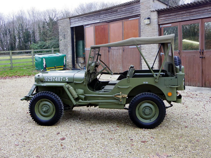 genuine world war ii 1944 willys jeep 5