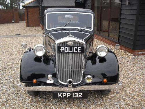 1947 wolseley 12 48 saloon ex police car front